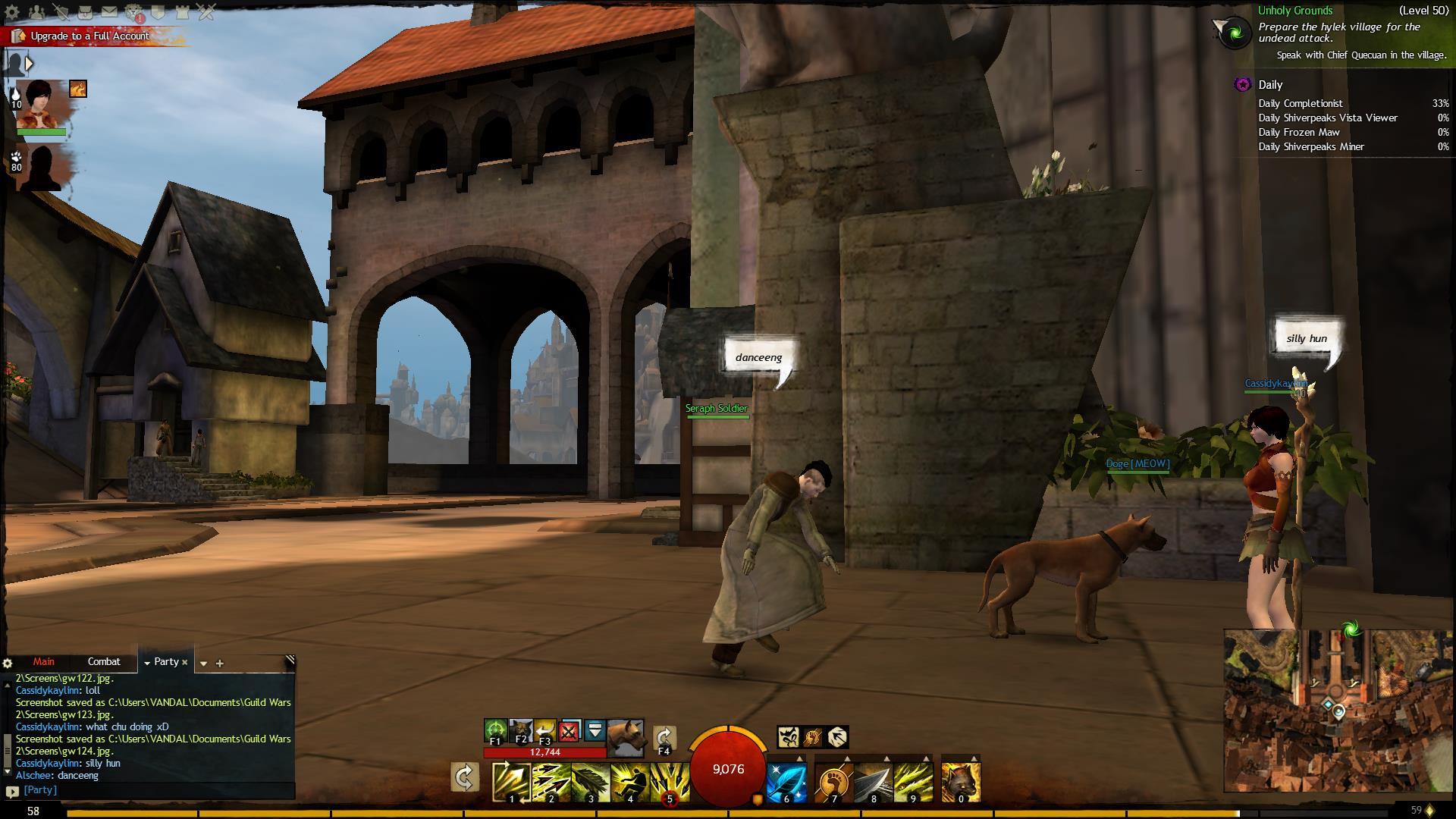 Guild Wars 2 Als Momo dancing