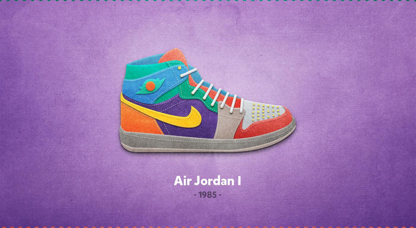 Air Jordan I - 1985