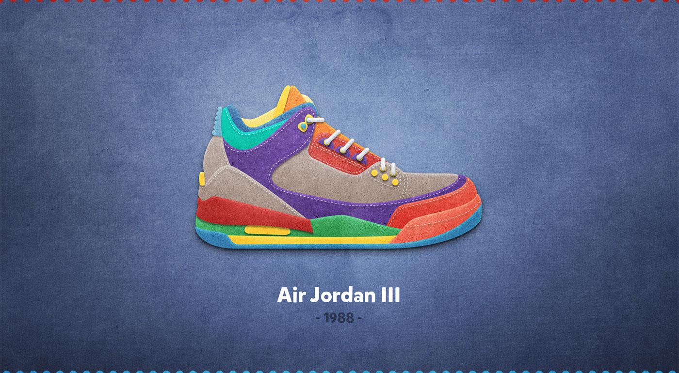 Air Jordan III - 1988