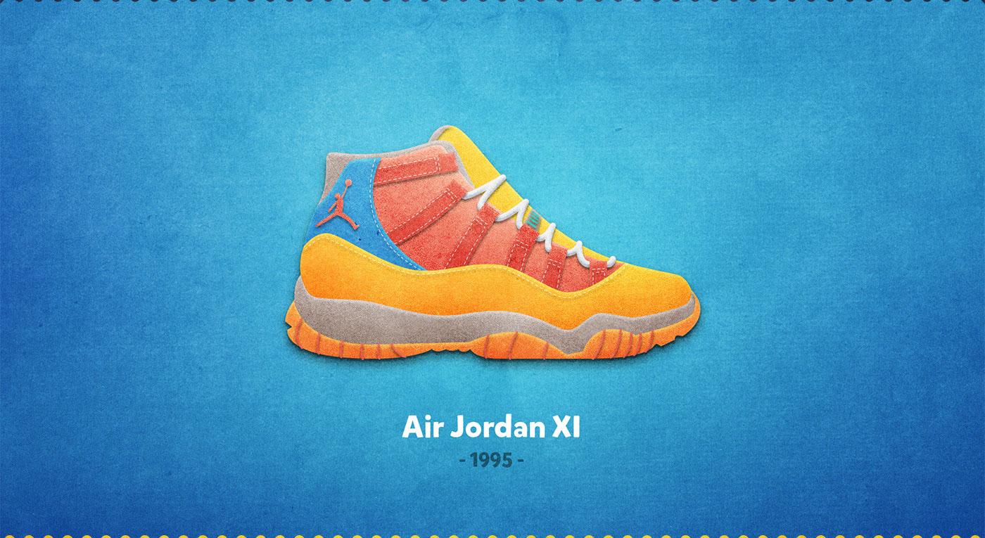 Air Jordan XI - 1995
