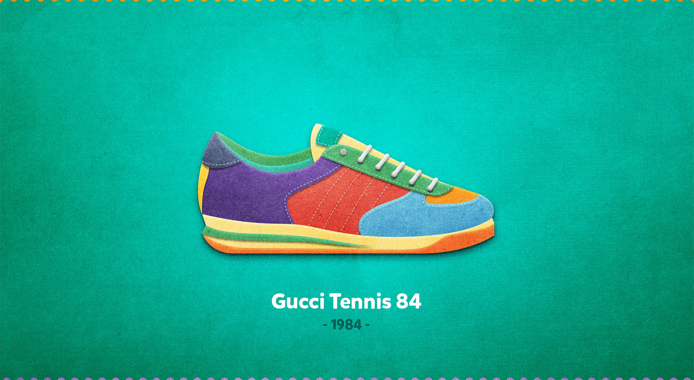 Gucci Tennis 84 - 1984