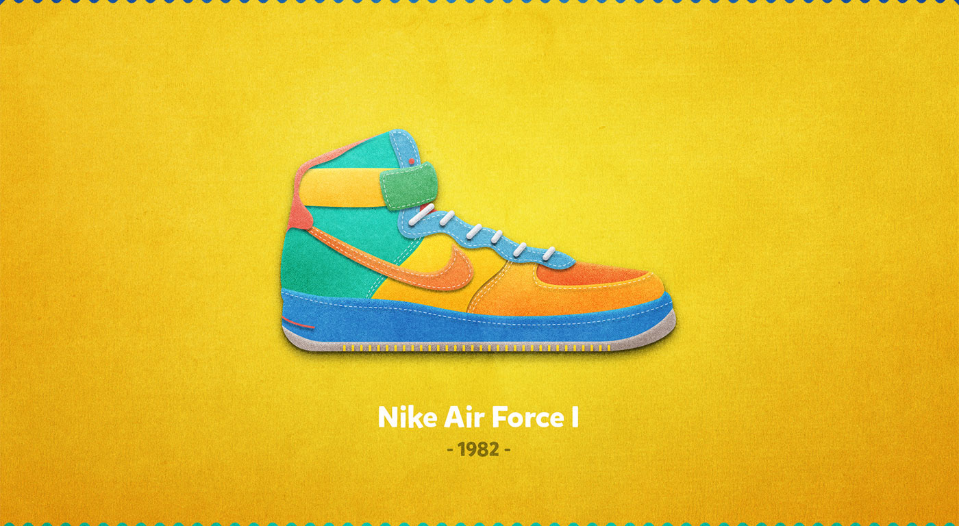 Nike Air Force I - 1982