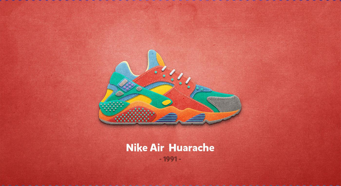 Nike Air Huarache - 1991