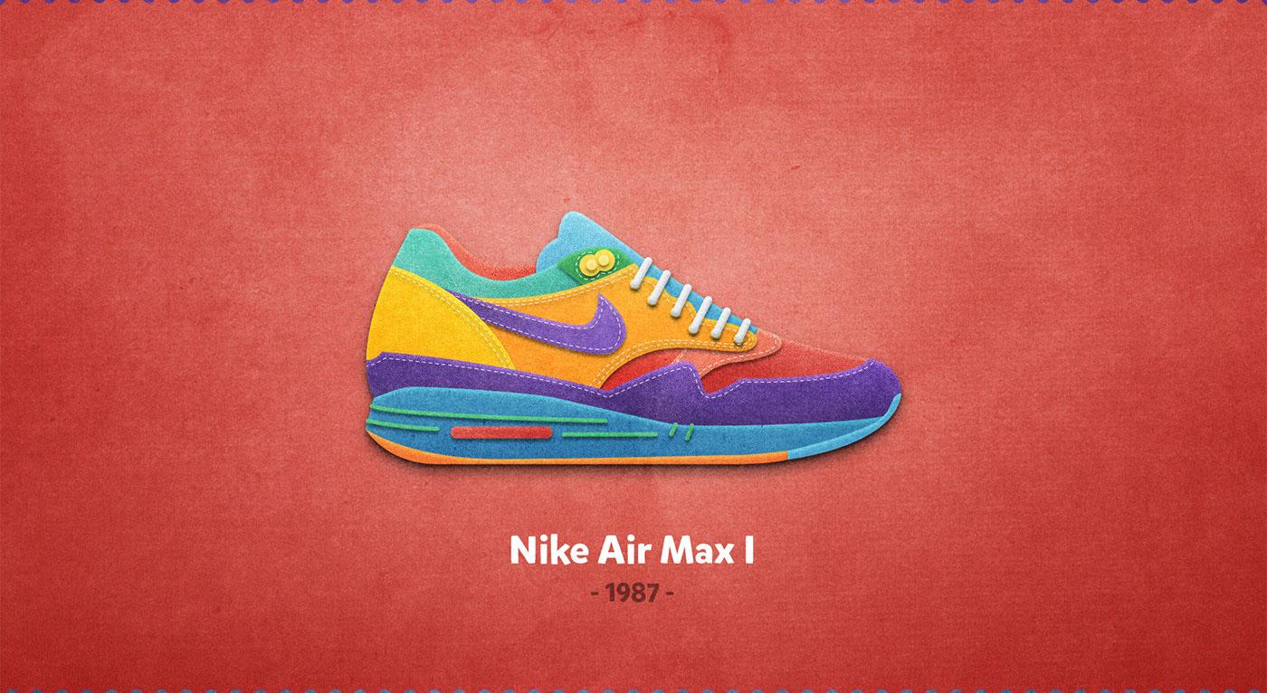 Nike Air max I - 1987