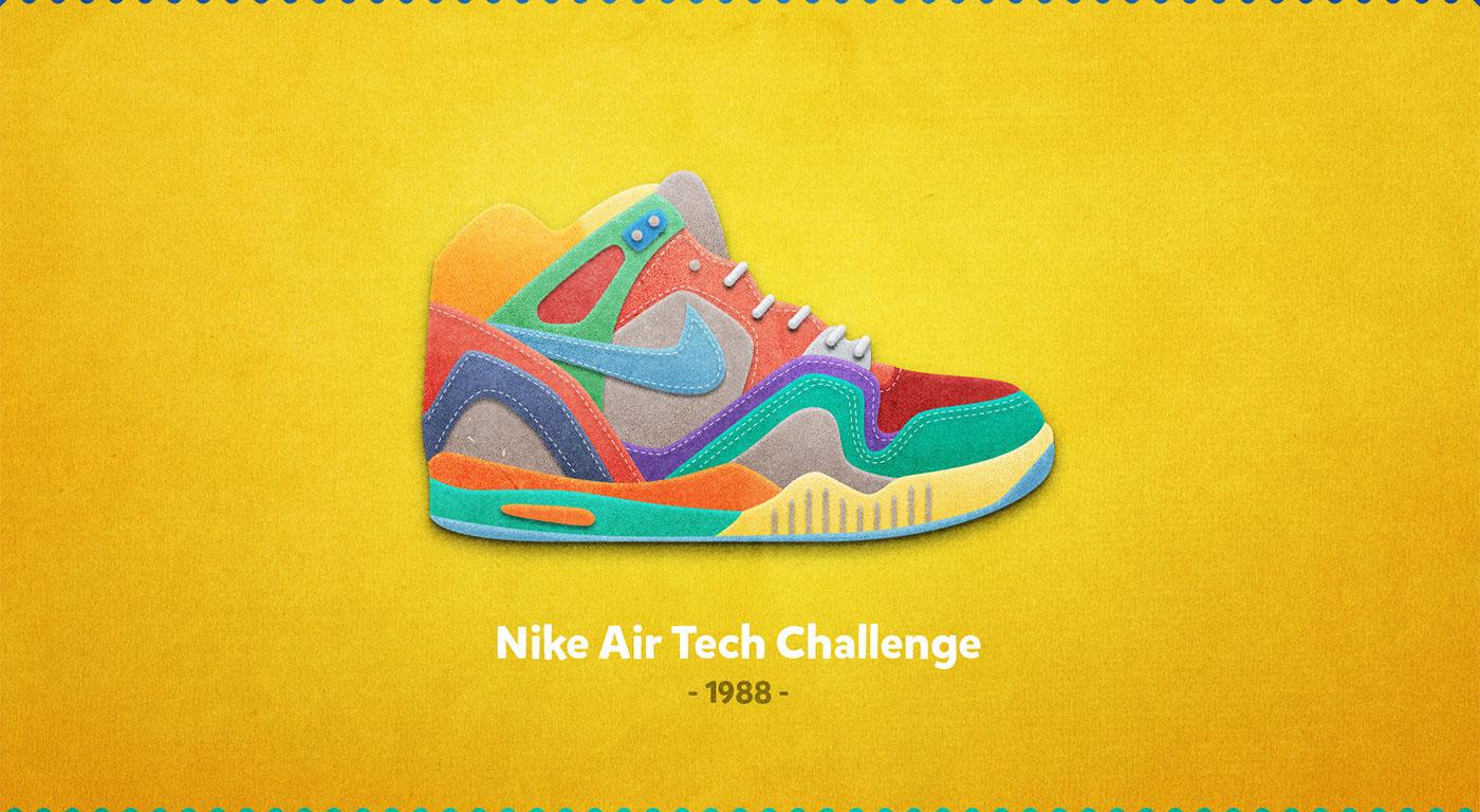 Nike Air Tech Challenge - 1988