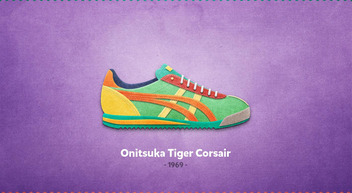 Onitsuka Tiger Corsair - 1969