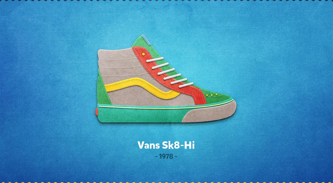Vans Sk8-Hi - 1978